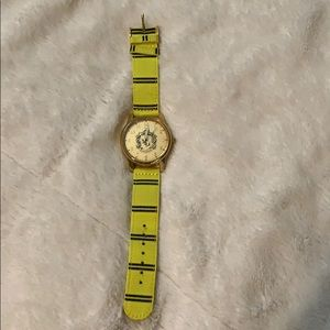 Hufflepuff Watch Authentic Universal MERCH NWOT